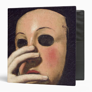 Woman with a Mask Vinyl Binder