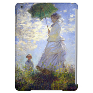 Woman with a Parasol by Claude Monet iPad Air Covers