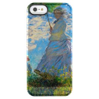 Woman with a Parasol Claude Monet Impressionist Clear iPhone SE/5/5s Case