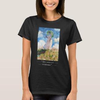 Woman with a Parasol  Claude Monet T-Shirt