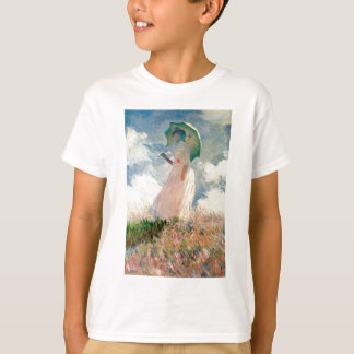 Woman with a Parasol - Claude Monet T-Shirt