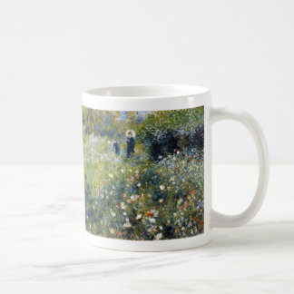 Woman with a Parasol in a Garden, Renoir Coffee Mug