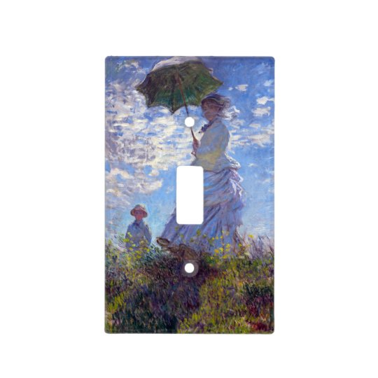 Woman with a Parasol Light Switch Cover