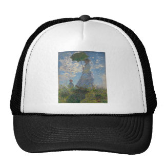 Woman with a Parasol - Madame Monet and Her Son Trucker Hat