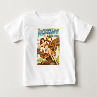 Woman with a Snake Baby T-Shirt