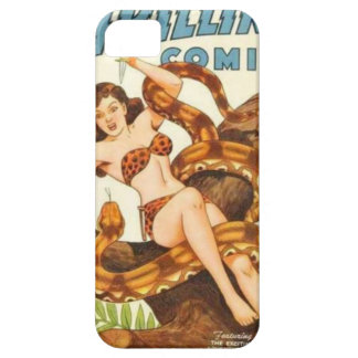 Woman with a Snake iPhone 5 Cases