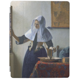 Woman with a Water Jug by Johannes Vermeer iPad Cover