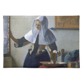 Woman with a Water Jug by Johannes Vermeer Placemat