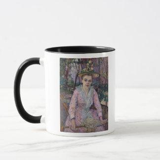 Woman with an Umbrella, 1889 Mug