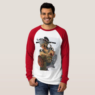 woman with armor - glue T-Shirt