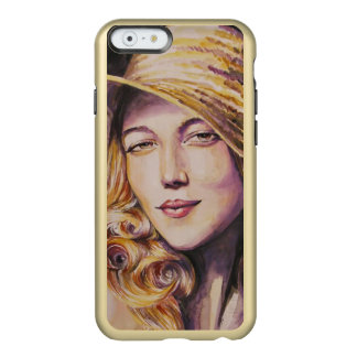 Woman with hat incipio feather® shine iPhone 6 case