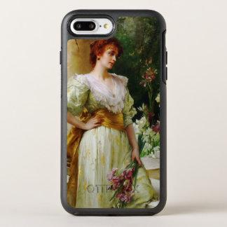 Woman with Irises Fine Art OtterBox Symmetry iPhone 8 Plus/7 Plus Case