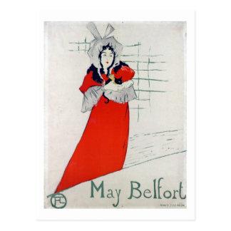 Woman with Kitten, Henri de Toulouse-Lautrec Postcard