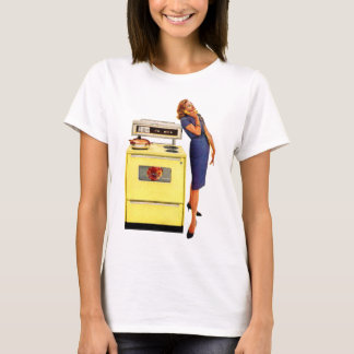 Woman with Oven 1960 T-Shirt