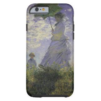 Woman with Parasol by Monet, Vintage Impressionism Tough iPhone 6 Case