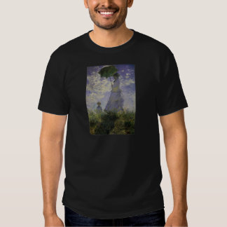 Woman With Parasol Claude Monet Mother's Day Card Tees