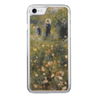 Woman with Parasol in a Garden by Renoir Carved iPhone 7 Case