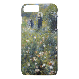 Woman with Parasol in a Garden by Renoir iPhone 7 Plus Case