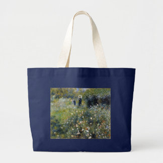 Woman with Parasol in a Garden by Renoir Jumbo Tote Bag