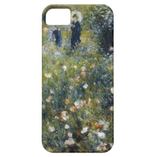 Woman with Parasol in a Garden Case For The iPhone 5