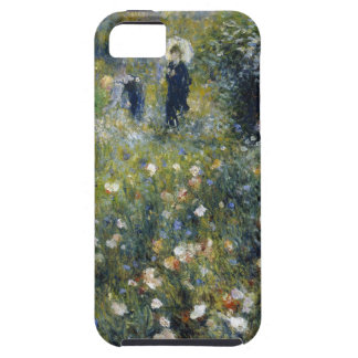 Woman with Parasol in a Garden iPhone 5 Case