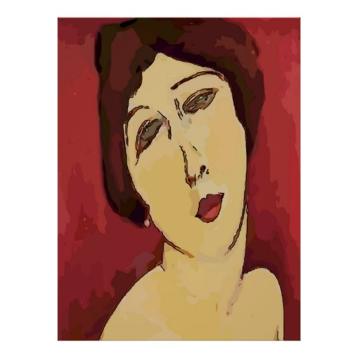 Woman's Face 6M Print