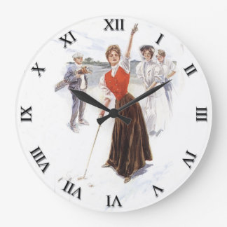 Woman's Golf Clock