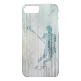 Woman's Lacrosse Player iPhone 8/7 Case