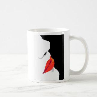 Woman's Red Lips (3) Coffee Mugs