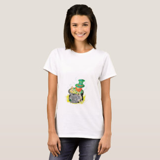 Woman's T-Shirt/ Leprechaun T-Shirt