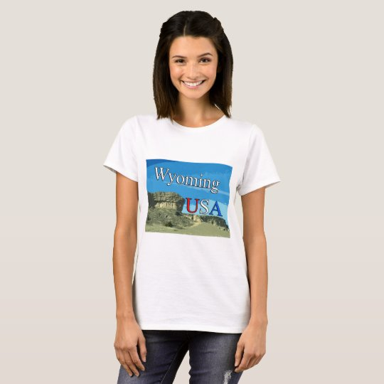 Woman's Wyoming T-Shirt
