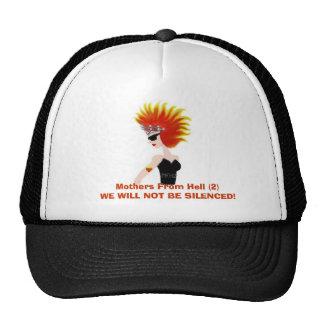 womanwithfirehairandtiara4FINISHED, Mothers Fro... Trucker Hat