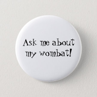 Wombat Button