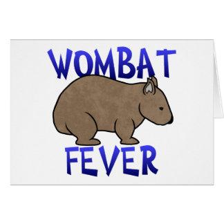 Wombat Fever II Card