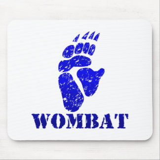 Wombat Footprint III Mouse Pad
