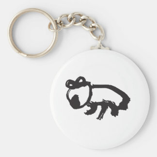 Wombat Keychain