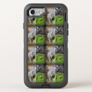 Wombat Sniff iPhone Otterbox 7 defender Case