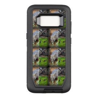 Wombat Sniff Samsung Galaxy S8 defender Case
