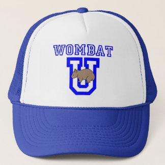 Wombat U Trucker Hat
