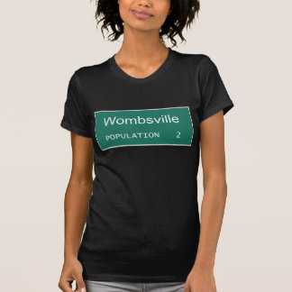 Wombsville Population 2 | Pregnant with Twins T-Shirt