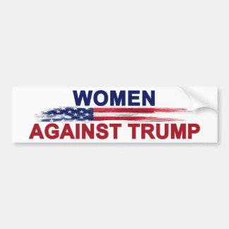 Women Against Trump Bumper Sticker
