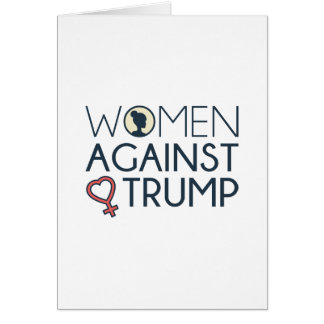 Women Against Trump Card