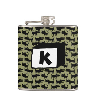 Women and Cats Will Do As They Please Flask