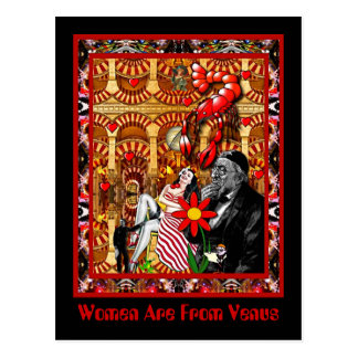 Women Are From Venus Postcard