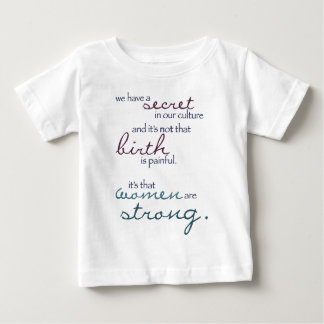 women are strong baby T-Shirt