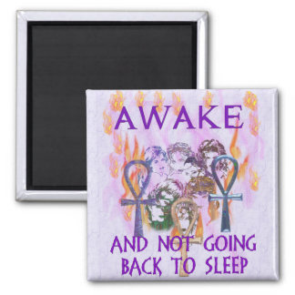 Women Awake Fridge Magnets