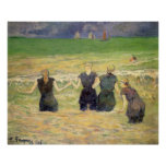 Women Bathing Dieppe, Gauguin, Post Impressionism