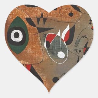 Women, Birds, and a Star Heart Sticker