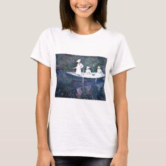 Women Boating - Claude Monet T-Shirt