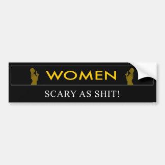 Women Bumper Sticker
